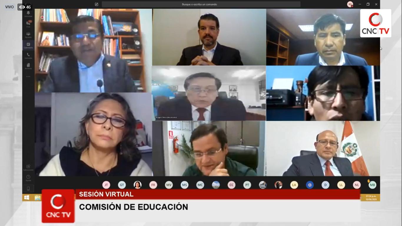 Conforman grupos de trabajo en Comisión de Educación - Comunicaciones »  Comunicaciones