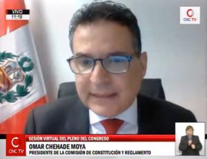 Congresista Omar Chehade