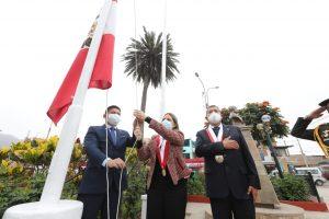 Presidenta María del Carmen Alva visita distrito de Santa Cruz de Flores